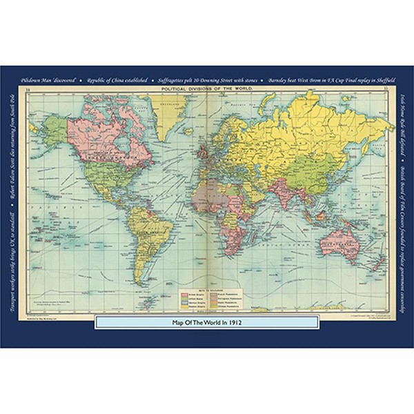 1912 YOUR YEAR YOUR WORLD 400 PIECE JIGSAW Image