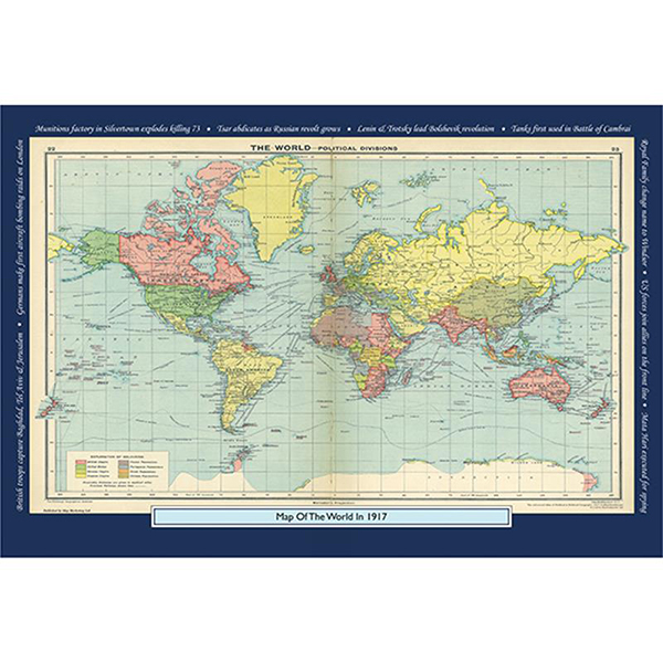 1917 YOUR YEAR YOUR WORLD 400 PIECE JIGSAW Image