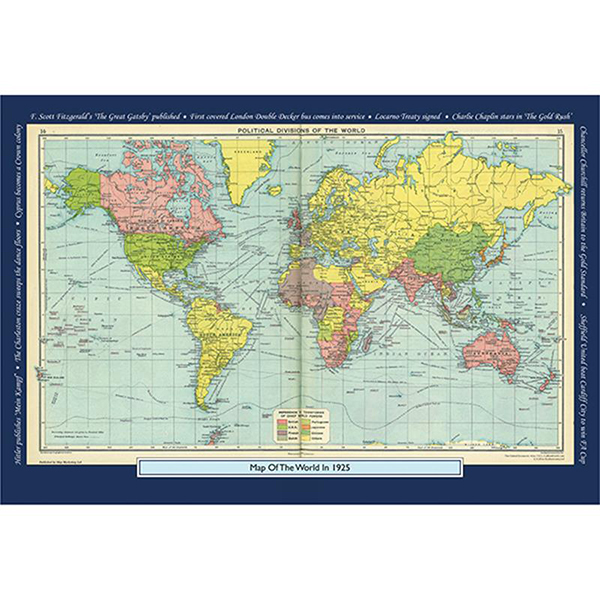 1925 YOUR YEAR YOUR WORLD 400 PIECE JIGSAW Image