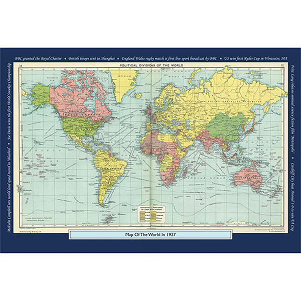 1927 YOUR YEAR YOUR WORLD 400 PIECE JIGSAW Image
