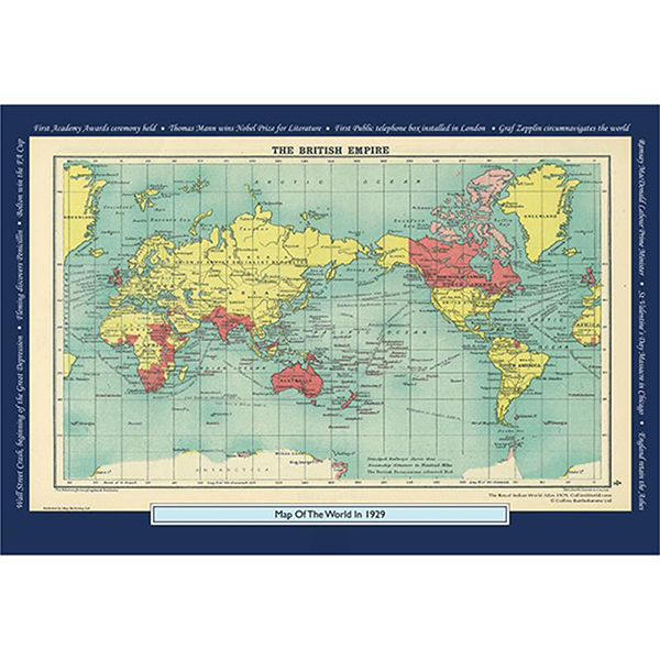 1929 YOUR YEAR YOUR WORLD 400 PIECE JIGSAW Image