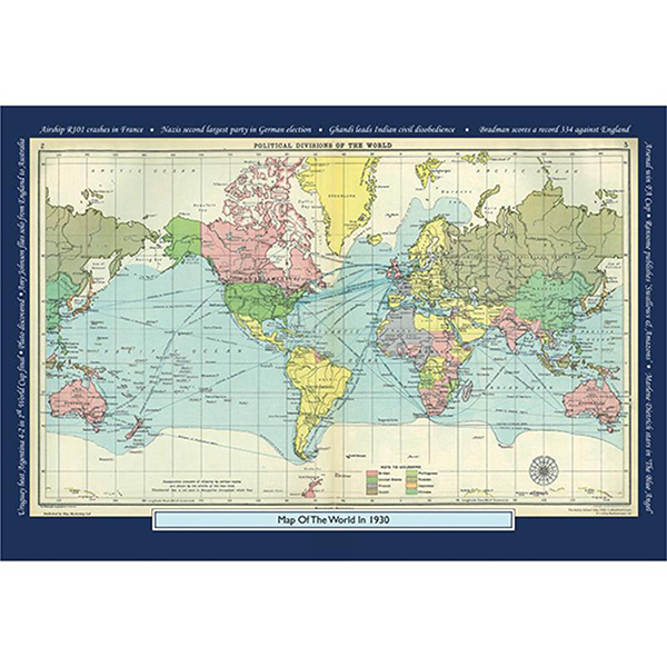 1930 YOUR YEAR YOUR WORLD 400 PIECE JIGSAW Image