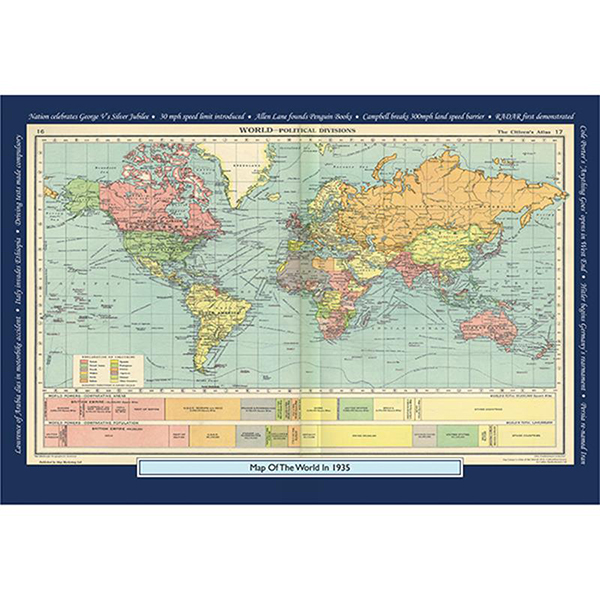 1935 YOUR YEAR YOUR WORLD 400 PIECE JIGSAW Image