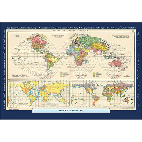 1936 YOUR YEAR YOUR WORLD 400 PIECE JIGSAW Image