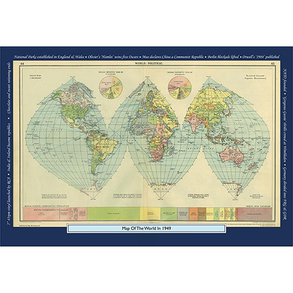 1949 YOUR YEAR YOUR WORLD 400 PIECE JIGSAW Image