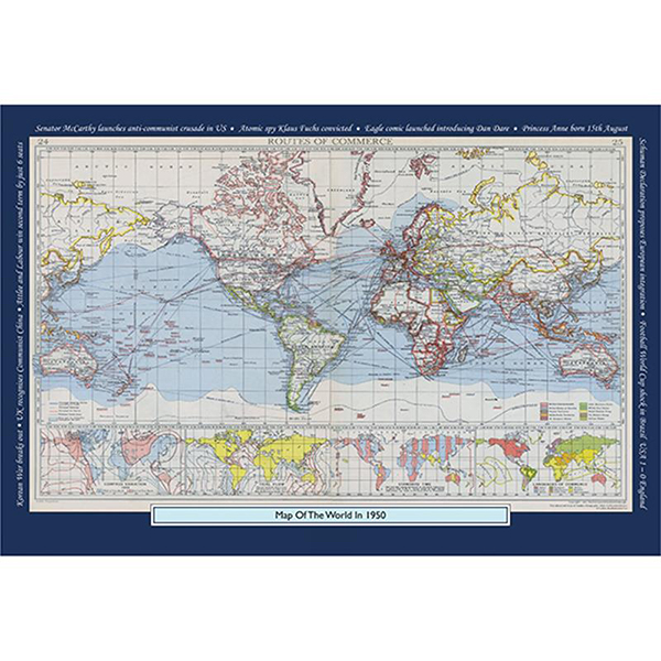 1950 YOUR YEAR YOUR WORLD 400 PIECE JIGSAW Image