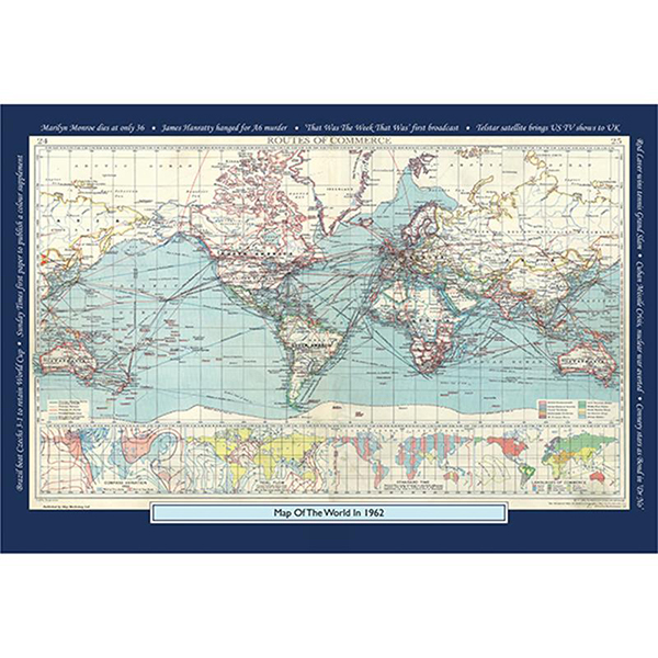 1962 YOUR YEAR YOUR WORLD 400 PIECE JIGSAW Image