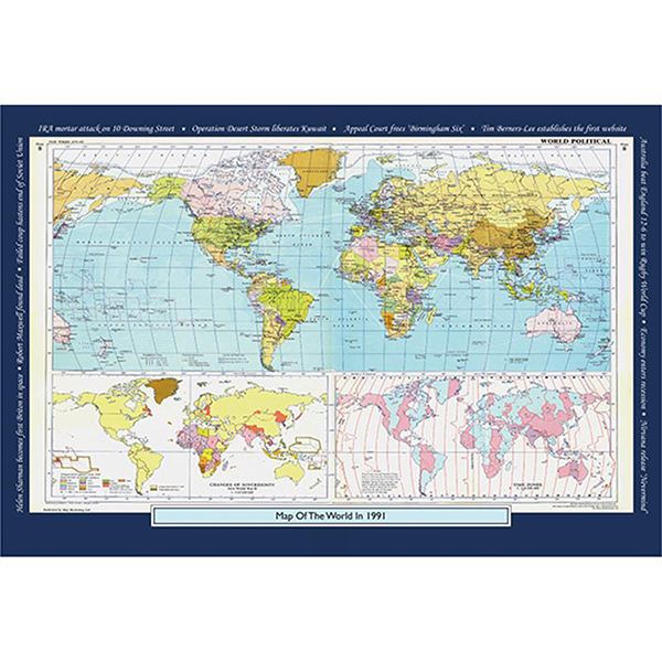 1991 YOUR YEAR YOUR WORLD 400 PIECE JIGSAW Image