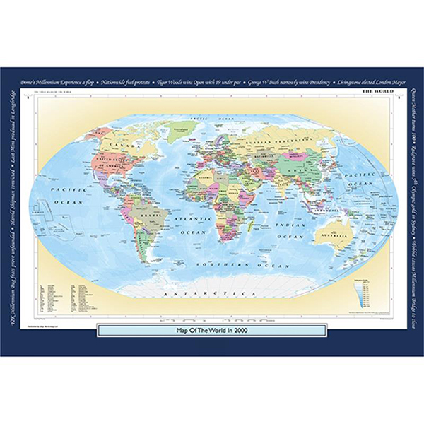 2000 YOUR YEAR YOUR WORLD 400 PIECE JIGSAW Image