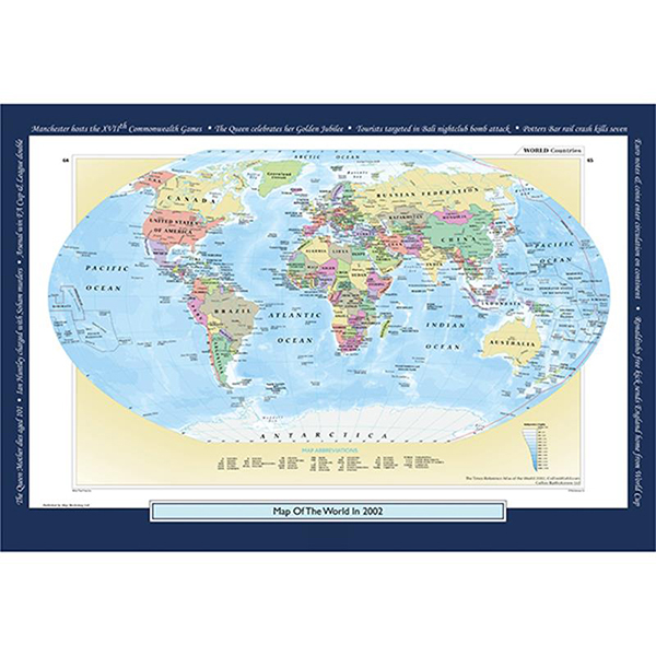 2002 YOUR YEAR YOUR WORLD 400 PIECE JIGSAW Image