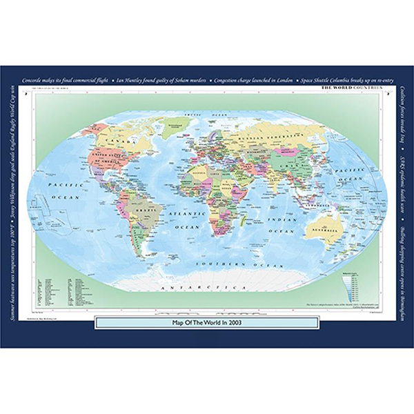 2003 YOUR YEAR YOUR WORLD 400 PIECE JIGSAW Image