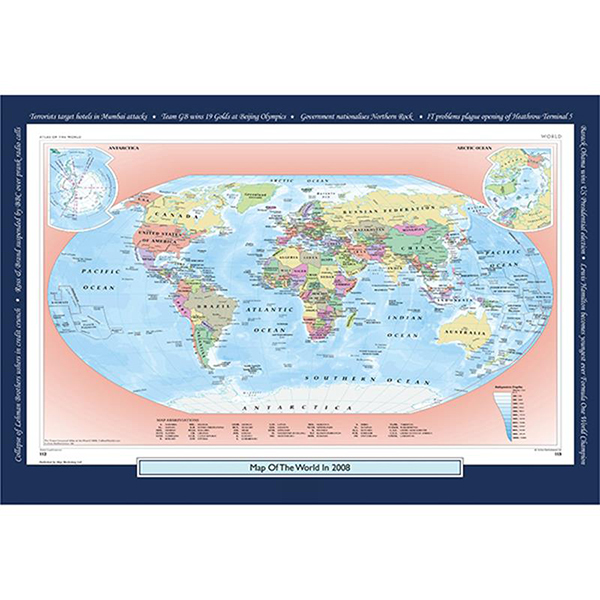 2008 YOUR YEAR YOUR WORLD 400 PIECE JIGSAW Image