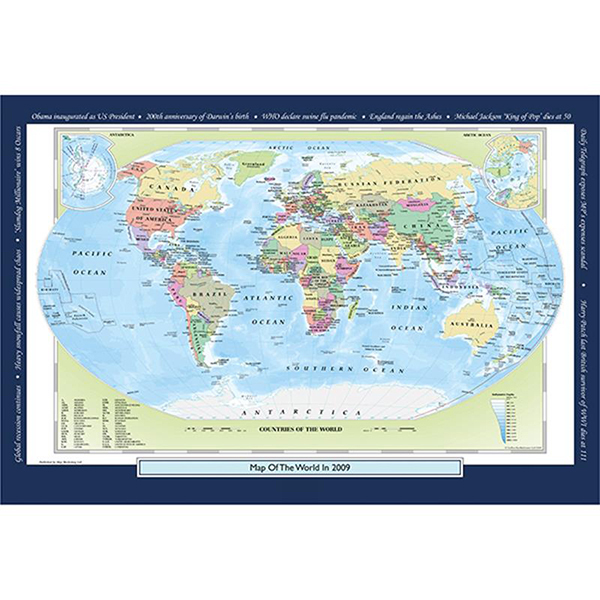 2009 YOUR YEAR YOUR WORLD 400 PIECE JIGSAW Image