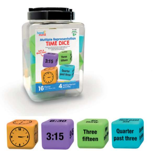 TIME DICE (GIANT MATHS DICE) Image