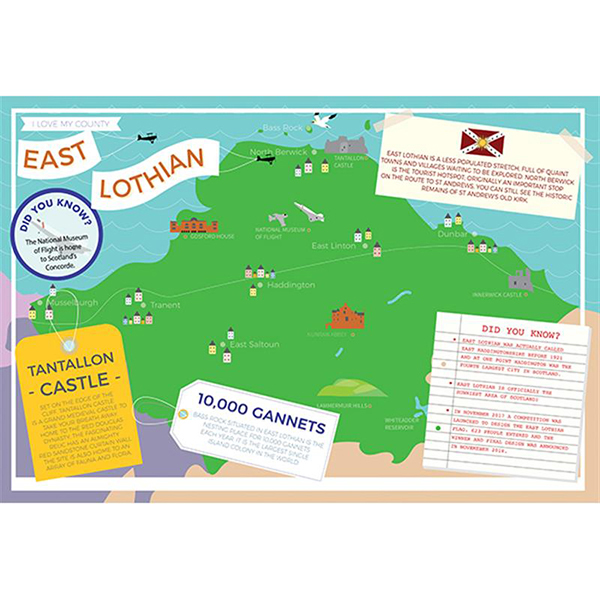 I LOVE MY COUNTY EAST LOTHION Image