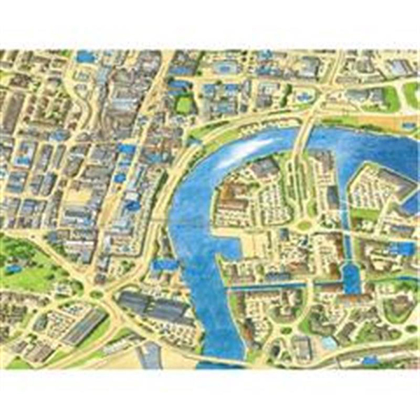 JIGRAPHY CITYSCAPES STOCKTON ON TEES 400 PIECE Image