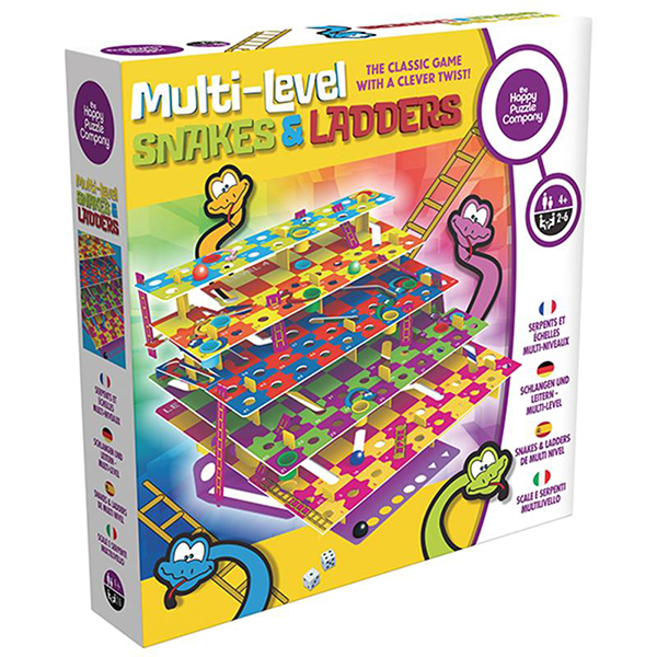 MULTI-LEVEL SNAKES & LADDERS Image