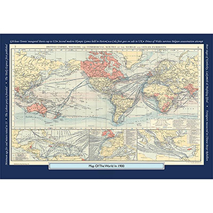 1900 YOUR YEAR YOUR WORLD 400 PIECE JIGSAW
