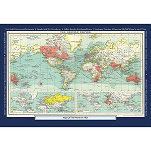 1901 YOUR YEAR YOUR WORLD 400 PIECE JIGSAW