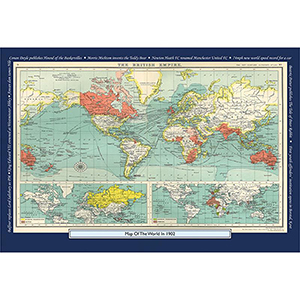 1902 YOUR YEAR YOUR WORLD 400 PIECE JIGSAW