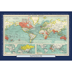 1903 YOUR YEAR YOUR WORLD 400 PIECE JIGSAW