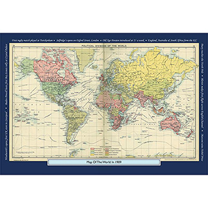 1909 YOUR YEAR YOUR WORLD 400 PIECE JIGSAW