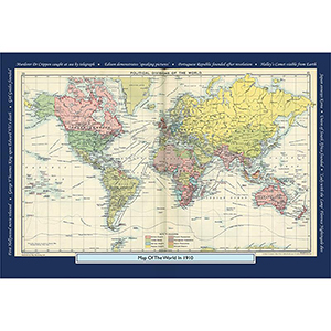 1910 YOUR YEAR YOUR WORLD 400 PIECE JIGSAW