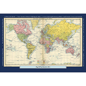 1911 YOUR YEAR YOUR WORLD 400 PIECE JIGSAW
