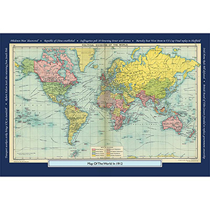 1912 YOUR YEAR YOUR WORLD 400 PIECE JIGSAW