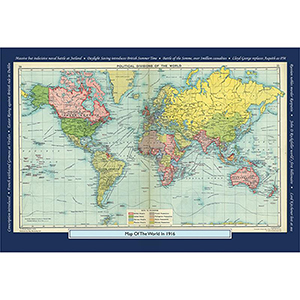 1916 YOUR YEAR YOUR WORLD 400 PIECE JIGSAW