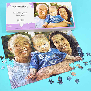 CREATE YOUR OWN PHOTO JIGSAW - 200 PC L/SCAPE