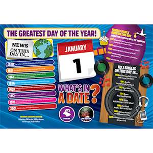 WHAT'S IN A DATE 1st JANUARY STANDARD