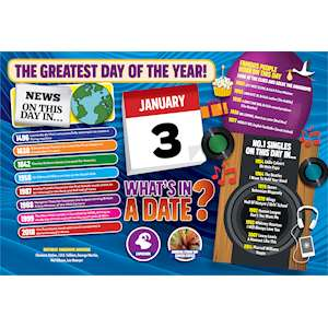 WHAT'S IN A DATE 3rd JANUARY STANDARD