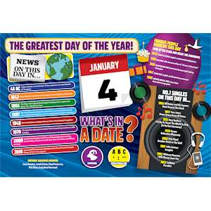 WHAT'S IN A DATE 4th JANUARY STANDARD