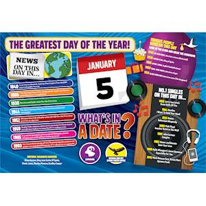 WHAT'S IN A DATE 5th JANUARY STANDARD