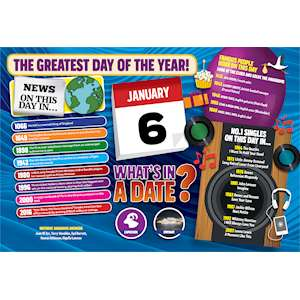 WHAT'S IN A DATE 6th JANUARY STANDARD