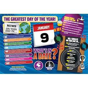 WHAT'S IN A DATE 9th JANUARY STANDARD
