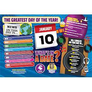 WHAT'S IN A DATE 10th JANUARY STANDARD