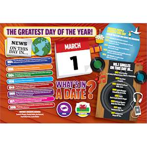 WHAT'S IN A DATE 1st MARCH STANDARD 400 PIECE