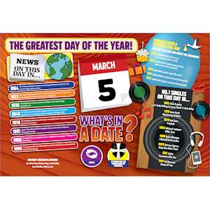 WHAT'S IN A DATE 5th MARCH STANDARD 400 PIECE