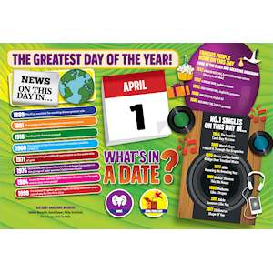 WHAT'S IN A DATE 1st APRIL STANDARD 400 PIECE