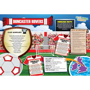 FOOTBALL CRAZY DONCASTER ROVERS (CRF400)