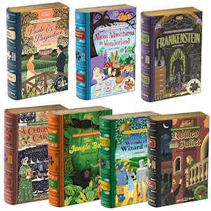 SET OF SEVEN JIGSAW LIBRARY BOOKS