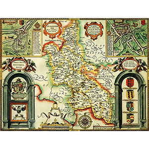 HISTORICAL MAP BUCKINGHAMSHIRE (M4JHIST400)