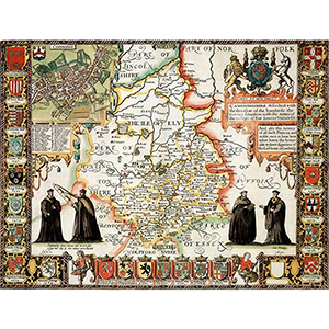 HISTORICAL MAP CAMBRIDGESHIRE (M4JHIST400)