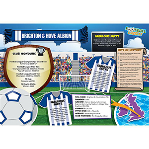 FOOTBALL CRAZY BRIGHTON AND HOVE ALBION (CRF400)