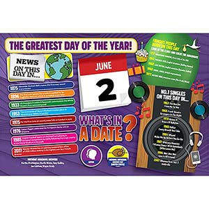 WHAT'S IN A DATE 2nd JUNE STANDARD 400 PIECE