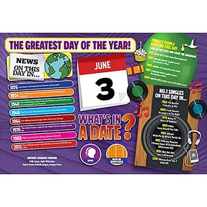 WHAT'S IN A DATE 3rd JUNE STANDARD 400 PIECE