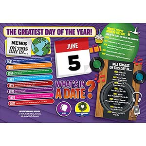 WHAT'S IN A DATE 5th JUNE STANDARD 400 PIECE