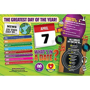 WHAT'S IN A DATE 7th APRIL STANDARD 400 PIECE